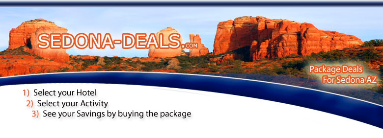 Sedona Arizona package deals on hotels and tours